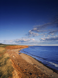 Coastline, Orby Head, Prince Edward Island National Park, Canada Photographic Print by Walter Bibikow