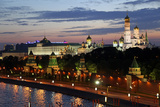 Dusk at the Kremlin, Moscow, Russia Photographic Print by Kymri Wilt