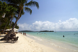 Chaweng Beach and the Gulf of Thailand on the Island of Ko Samui, Thailand Photographic Print by David R. Frazier