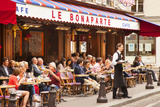 Sidewalk Cafe, Saint-Germain-Des-Pres, Paris, France Photographic Print by Brian Jannsen