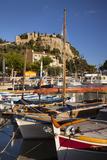 Sailboats in the Harbor of Cassis, Bouches-Du-Rhone, Provence, France Photographic Print by Brian Jannsen