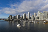 Buildings Along False Creek, Vancouver, British Columbia, Canada Photographic Print by Walter Bibikow