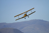 De Havilland Dh 82A Tiger Moth Biplane, Warbirds over Wanaka, Airshow, New Zealand Photographic Print by David Wall