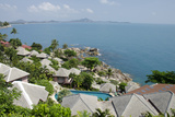Lookout Point, Chaweng Beach, Gulf of Thailand, Island of Ko Samui, Thailand Photographic Print by Cindy Miller Hopkins