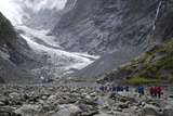 Franz Josef Glacier, Franz Josef Village, New Zealand Photographic Print by Lynn Seldon