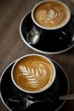 Latte at Havana Coffee Works, Wellington, North Island, New Zealand Photographic Print by Douglas Peebles