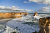 Cliffs, Loch Ard Gorge, View Towards the 12 Apostles, Great Ocean Road, Australia Photographic Print by Martin Zwick