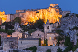 Twilight over Medieval Town of Les Baux De-Provence, France Photographic Print by Brian Jannsen