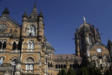 Chhatrapati Shivaji (Victoria) Terminus, Mumbai, India Photographic Print by Kymri Wilt
