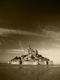 View of Mont Saint-Michel, Normandy, France Photographic Print by David Barnes