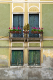 Exterior Detail of a House in Venice, Italy Photographic Print by David Noyes
