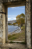 Old Building, Lake Dunstan, Cromwell, Central Otago, South Island, New Zealand Photographic Print by David Wall