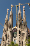 La Sagrada Familia by Antoni Gaudi, Barcelona, Spain Photographic Print by Sergio Pitamitz