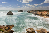 Bay of Martyrs, Bay of Islands, Great Ocean Road, Australia Photographic Print by Martin Zwick