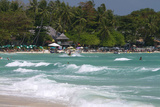 The Gulf of Thailand at Chaweng Beach on the Island of Ko Samui, Thailand Photographic Print by David R. Frazier