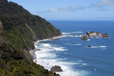 Coastline, the Tasman Sea, Karamea, New Zealand Photographic Print by Lynn Seldon