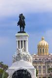 Monument to Antonio Maceo, Capitol Building, Havana, Cuba Photographic Print by Keren Su