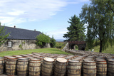 Barrels Waiting to Be Filled, Glenmorangie Distillery, Tain, Scotland Photographic Print by Lynn Seldon