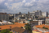 Cityscape, Havana, UNESCO World Heritage Site, Cuba Photographic Print by Keren Su