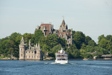 Boldt Castle, 'American Narrows', St. Lawrence Seaway, Thousand Islands, New York, USA Photographic Print by Cindy Miller Hopkins