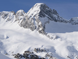 Reichenspitze Range, National Park Hohe Tauern, Mt Rainbach-Schwarzkopf, Austria Photographic Print by Martin Zwick