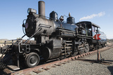 Old Steam Locomotive, Gold Hill Train Station, Virginia City, Nevada, USA Photographic Print by Michael DeFreitas