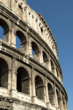 Flavian Amphitheater Called the Coliseum, Rome, Italy Photographic Print by David Noyes