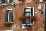 Street Scenes from Venice with Flower Boxes, Venice, Italy Photographic Print by Terry Eggers