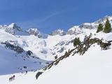 Reichenspitze Range, Hohe Tauern, Richterhuette Mountain Hut, Austria Photographic Print by Martin Zwick