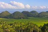 Chocolate Hills, Bohol Island, Philippines Photographic Print by Keren Su