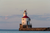 Wisconsin Point Lighthouse Near Superior, Wisconsin, USA Photographic Print by Chuck Haney