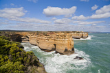 Coastline, Loch Ard Gorge, View Towards Elephant Rock, Great Ocean Road, Australia Photographic Print by Martin Zwick