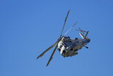 Seasprite Helicopter (Kaman SH 2G Seasprite) Airshow Photographic Print by David Wall