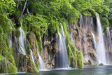 The Plitvice Lakes in the National Park Plitvicka Jezera, Croatia Photographic Print by Martin Zwick