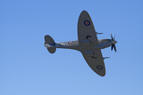 Supermarine Spitfire, British and Allied WWII War Plane, South Island, New Zealand Photographic Print by David Wall