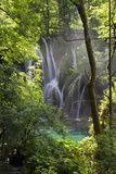 Upper Lakes, Ponds and Waterfalls, Plitvice Lakes, Plitvicka Jezera, Croatia Photographic Print by Martin Zwick