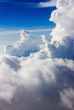 Aerial View of Clouds in the Sky, Philippines Photographic Print by Keren Su