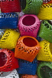 Colorful Baskets, Manila, Philippines Photographic Print by Keren Su