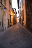 Back Alley in Evening Light, Lucca, Italy Photographic Print by Terry Eggers