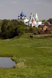 Landscape of Suzdal and the Cathedral of the Nativity in Distance, Suzdal, Russia Photographic Print by Kymri Wilt