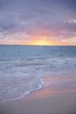 Sunrise, Bavaro Beach, Higuey, Punta Cana, Dominican Republic Reprodukcja zdjęcia autor Lisa S. Engelbrecht