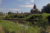 Kamenka River and Church of the Transfiguration, Suzdal, Russia Photographic Print by Kymri Wilt