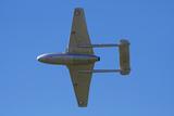 De Havilland Vampire Jet Attack Aircraft, Vintage Planes Photographic Print by David Wall