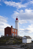 Fisgard Lighthouse, Victoria, Vancouver Island, British Columbia, Canada Photographic Print by Walter Bibikow