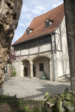 Reconstructed House and Courtyard of Martin Luther's Birthplace, Eisleben, Germany Photographic Print by Dave Bartruff