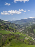 Eisack Valley Near Klausen and the Brenner Pass, South Tyrol, Italy Photographic Print by Martin Zwick