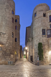 Old Roman Gate at Dawn, Gothic Quarter, Barcelona, Spain Photographic Print by Rob Tilley