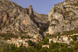 Setting Sunlight, Moustier-Sainte-Marie, Near Gorges Du Verdon, Provence, France Photographic Print by Brian Jannsen