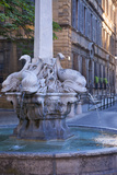 Four Dolphins Fountain, Aix-En-Provence, France Photographic Print by Brian Jannsen