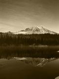 Reflection Lake, Mt Rainier National Park, Washington, USA Photographic Print by Stuart Westmorland